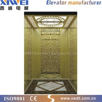 China factory manufacturer international standard passenger materials construction elevator for cargo and passenger lifting