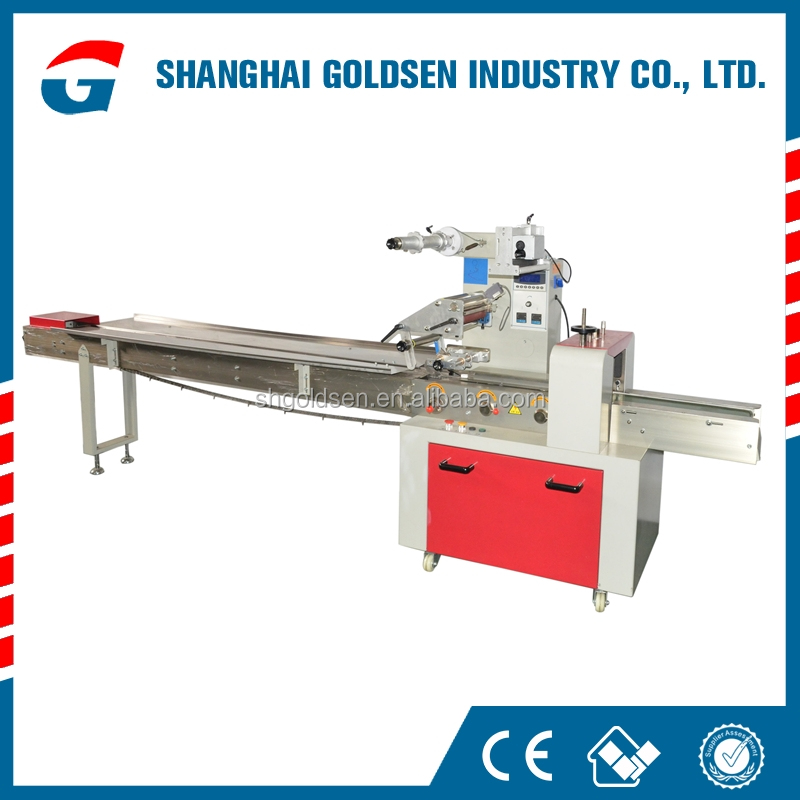 Hot selling packaging machine for wafer biscuit,snacks packing machinery,food with tray packing machinery