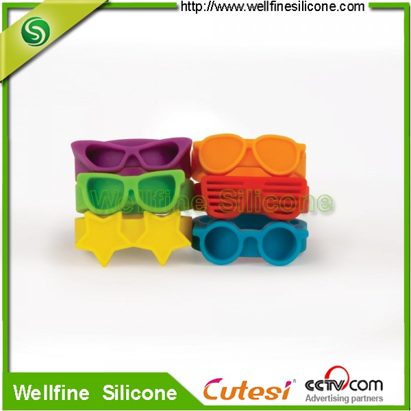Highly Elastic Silicone Beer Bottle Bands Drinks Markers Supplier