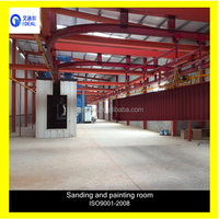 Sheet and Profile Shot Blasting Descaling Polishing Painting and Drying CrculateLine