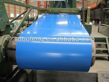 colour coated zinc plate in coils madi in China