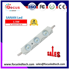 CE and Rohs Samsung Injection 3/ leds module with160 degree lens