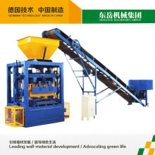Portable price of QT4-24 small concrete brick curb extruder machine