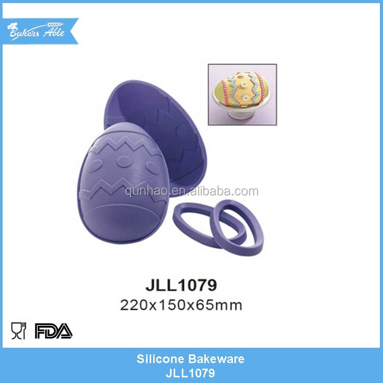 Easter Day gifts eggs silicone cake mould