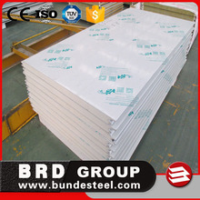 fireproof lightweight house partition wall panel used pu sandwich panel