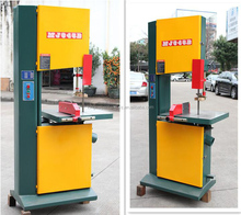 Wood cutting vertical band saw machine for woodworking