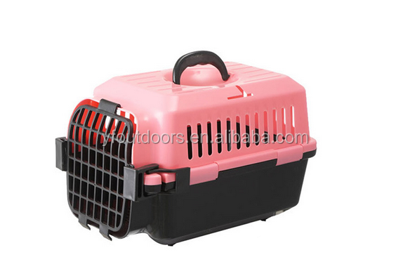 Dog travel durable foldable pet carrier cage