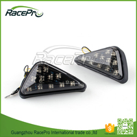 Aftermarket Triangle Casing LED Light Motorcycle Turn Signal for Kawasaki Suzuki Yamaha