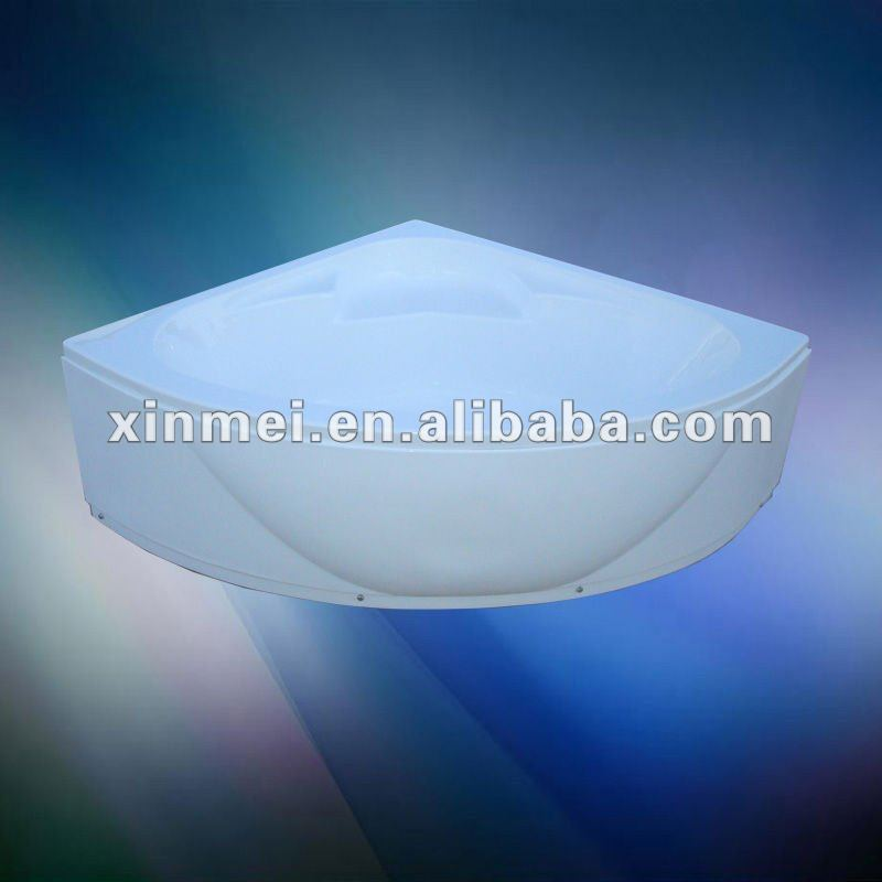 Hot selling one person corner bathtub from China factory,sanitary ware manufacturer