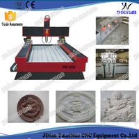 CNC stone carving machine / CNC marble engraving machine /marble CNC router for photos on marble tombstone