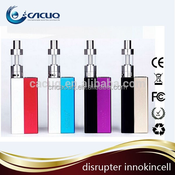 New Arrival Unique colorful Innokin Disrupter Mod Innokin InnoCell battery disrupter 50W