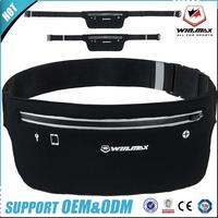 Newest Design High Quality Sports Running Elastic Belt Running Waist Bag
