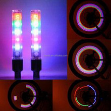 5 LED Bicycle Wheel Tire Light Valve Cap Motorcycle Colorful Bike Spoke Light