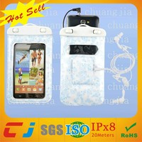 Eco-friendly mobile phone waterproof bag for samsung galaxy s3 i9300