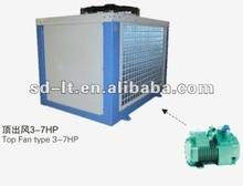 JZB Series Box Type Semi-Hermetic Bitzer Compressor Air Cooled Condensing Unit for Cold Storage Room