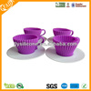 Non-stick food grade silicone cup cake case/ cake pop pan