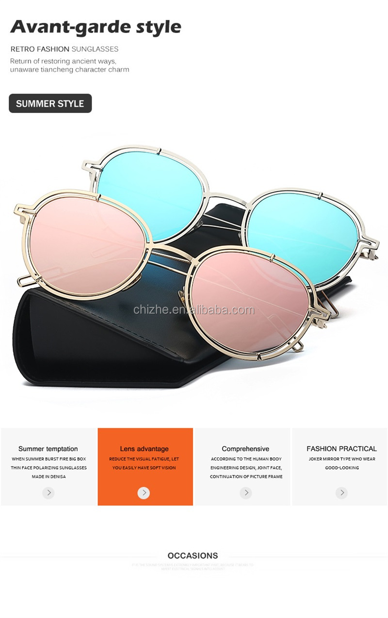 Fashion custom promotional sunglasses no minimum with engraved logo