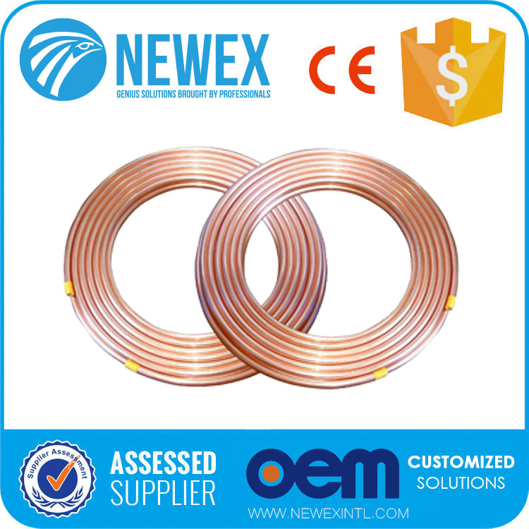 Air Conditioner Hardware Copper Coil Soft Type Refrigeration Pipe/Tubing