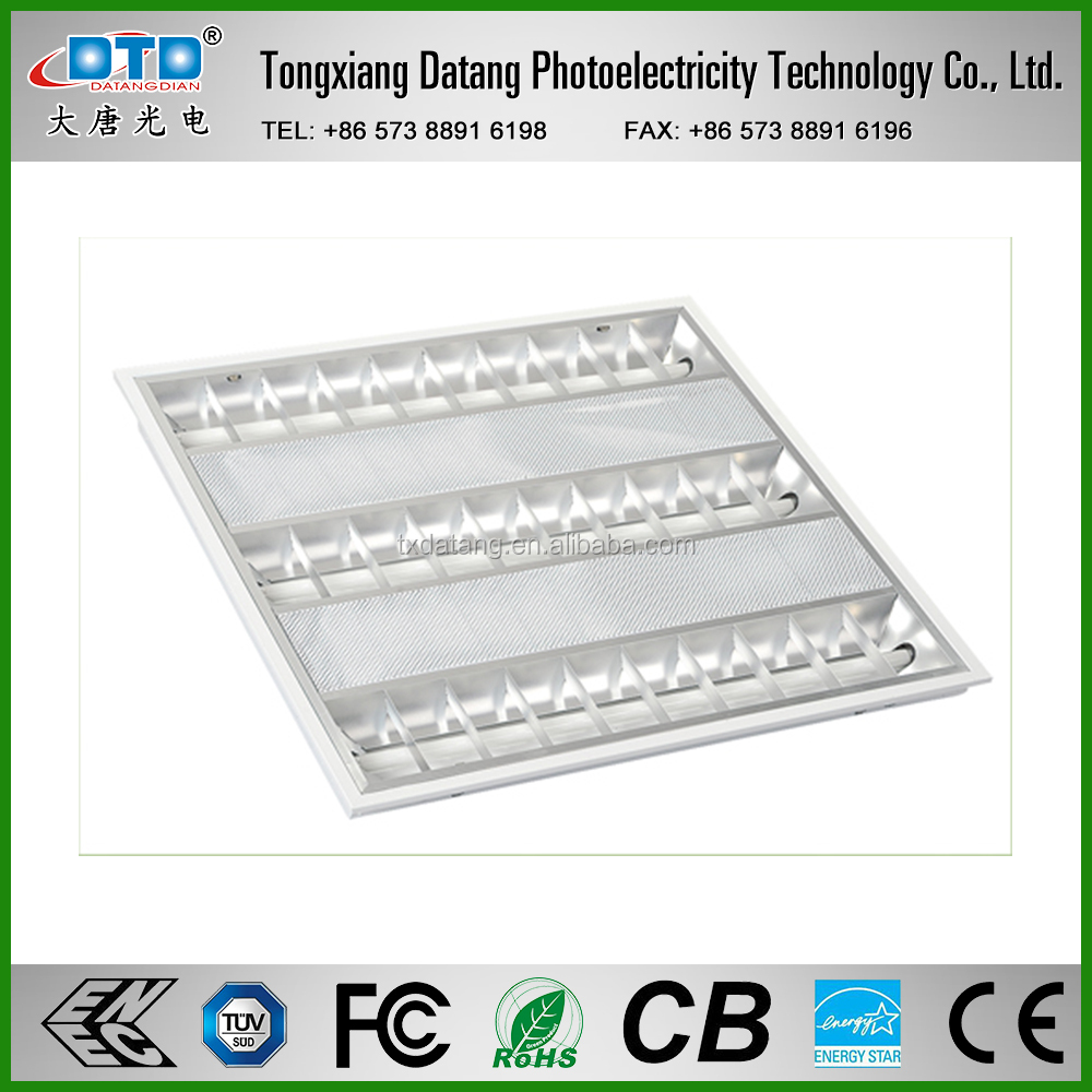 China Wholesale High Quality 2*14W 2FT Grille Lamp Inlayed Grid Lamp