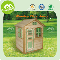 Wooden children playhouse plans - DIY- robust and easy to build
