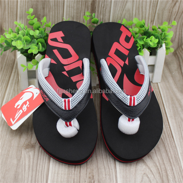 2016 new arrival comfortable summer high quality pu strap beach walk shoes cheap wholesale flip flops