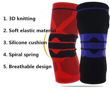 Wholesale knee compression support, sports knee sleeve, knee brace support sleeve