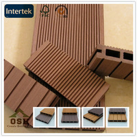 Easy installation Cheap Outdoor wpc flooring, 150*25mm Recyclable Waterproof wpc flooring,wpc decking