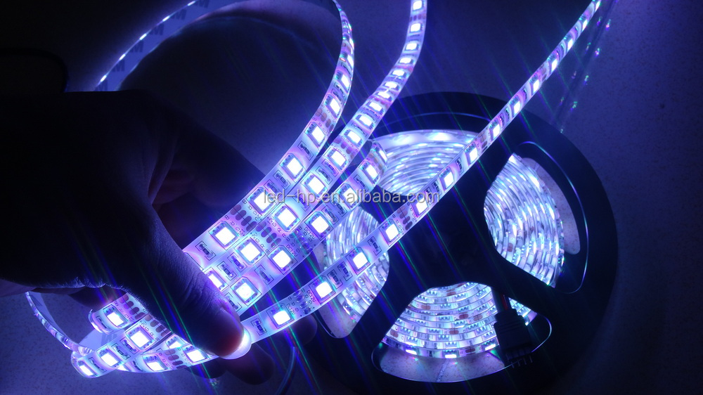 SMD 5050 5m 500cm RGB 300 LED Flexible Light Strip DC 12V waterproof