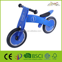 12'' Wooden Balance Racing Bikes for Kids toy Bicycles