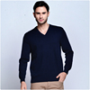 V-neck cashmere sweater for man factory price computer knitted 100% cashmere