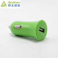 in car charger Led light 1 Amp cell phone charger for multiple mobile phones wholesale travel car charger