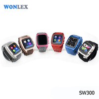 Wonlex 3g WCDMA GSM Dual Core Sim Mobile Phone Watch/GPS WIFI Micro Sim Card Watch Phone