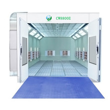 good quality Electric water borne Car airbrush spray booth