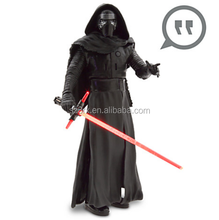 "12 ""<span class=keywords><strong>black</strong></span> <span class=keywords><strong>knight</strong></span> parlare action figure in vendita/Custom made freddo caratteri Parlare Action Figure/oem elettronico talking figure"