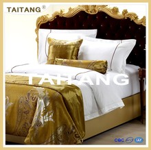 High quality 100% cotton hotel bedding set in hot sale