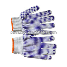 800g Working Cotton Gloves PVC Dotted
