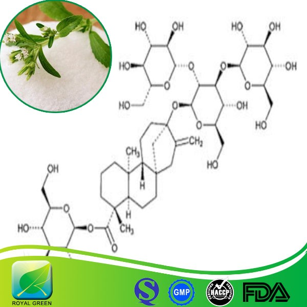 Food and medical grade stevia extract plant extract powder