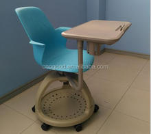 Plastic school training node chair with tablet NC368