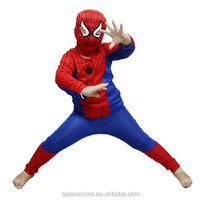 Hot Party Supplies Spiderman Halloween Costume For Kids Children Cosplay S/M/L Christmas Costume
