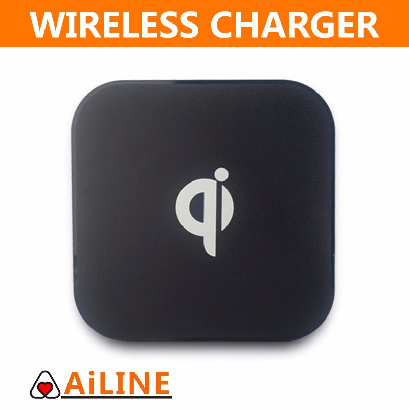 AiLINE Mobile Phone 5v 2a Battery Qi Standard Wireless Charger for Samsung Galaxy S7