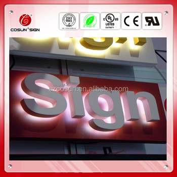 Acrylic LED channel letter