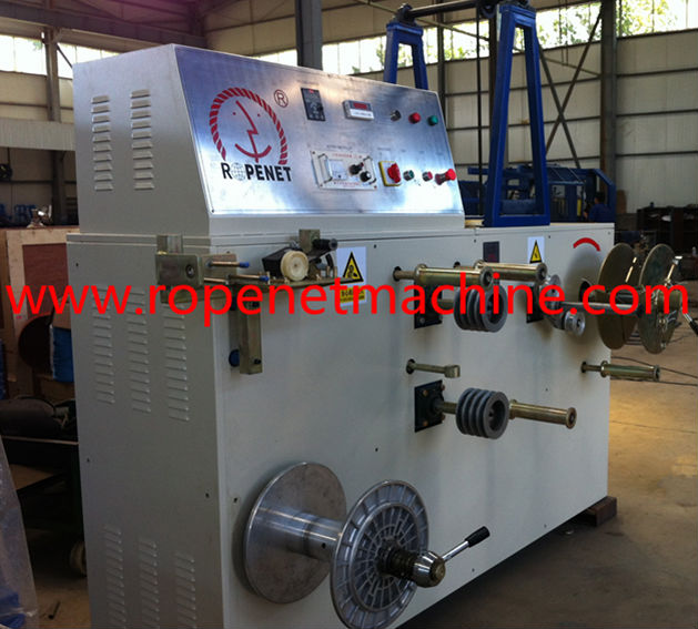 semi-auto rope coiler machine
