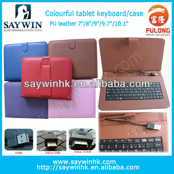 micro with CE certification tablet android case and keyboard