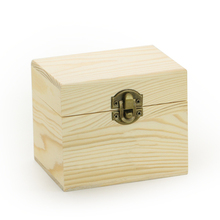 Exquisite Solid Wood Cosmetic Box, Essential Oil Wooden Package Box