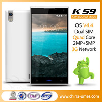 7.4mm MTK6582 Quad core 4.42 Android OS telephone portable
