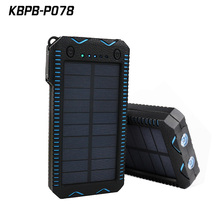 Newest P078 population 20000Mah solar power banks for laptop