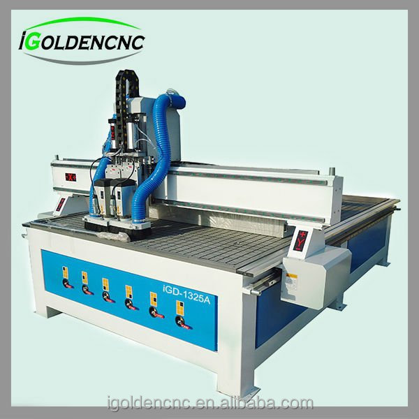china new double spindel 4 axis cnc wood engraving machine