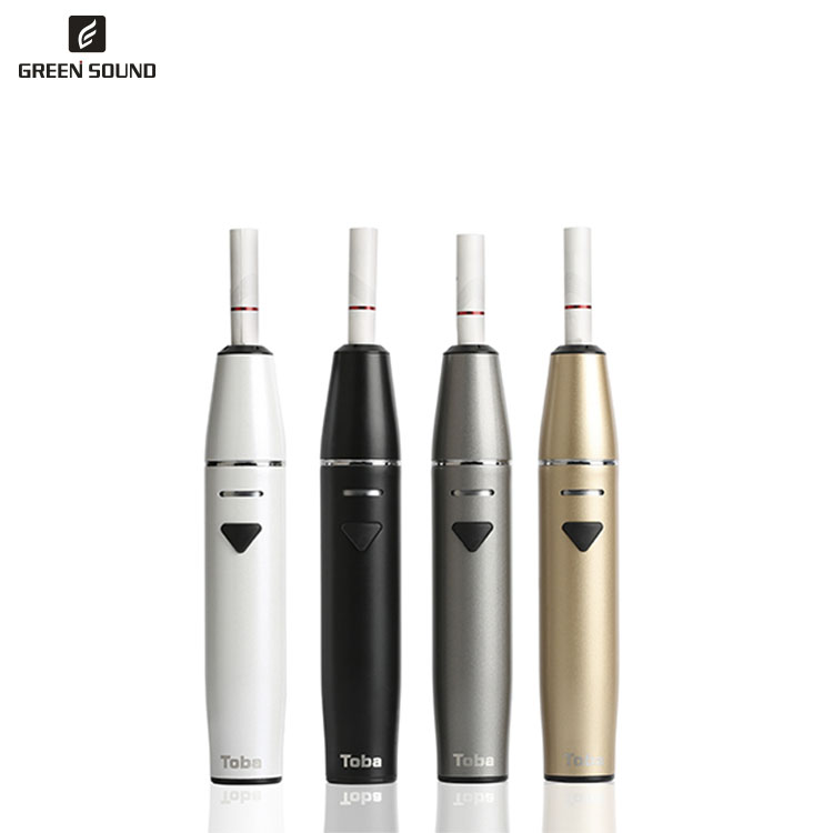 New tobacco smoking device for heat not burn cigarettes with 1500mAh battery