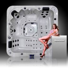 Balboa System 5 Person Hot Tub with rising dragon lights (A521)