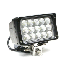 china manufacturer 12V 24V square 6 inch 45W Epistar led truck light for volvo truck headlight